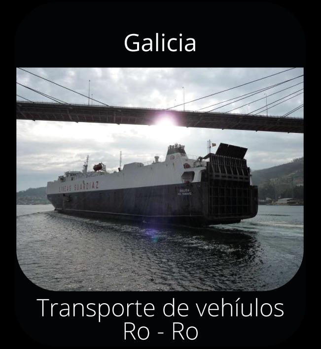 Galicia - Transporte de vehículos Ro-Ro