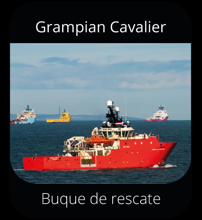 Grampian Cavalier - Buque de rescate