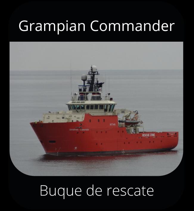 Grampian Commander - Buque de rescate
