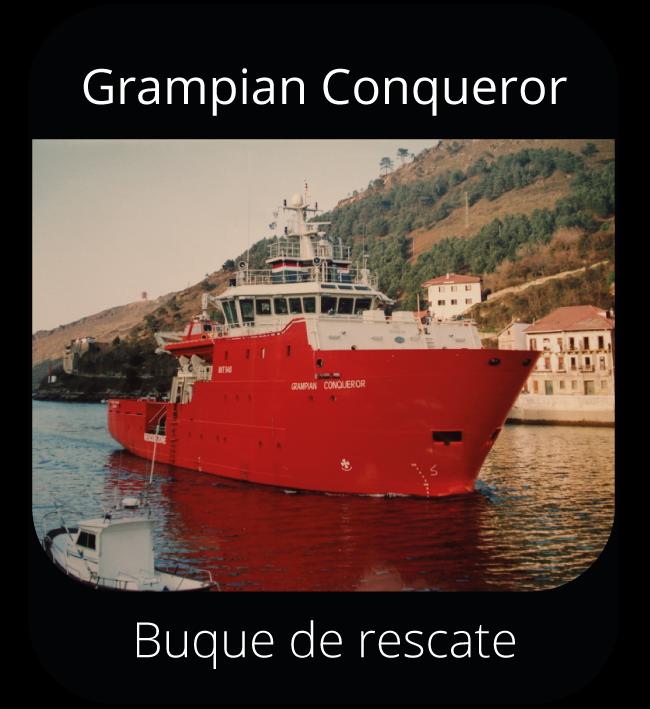 Grampian Conqueror - Buque de rescate