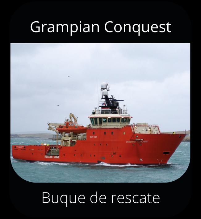 Grampian Conquest - Buque de rescate