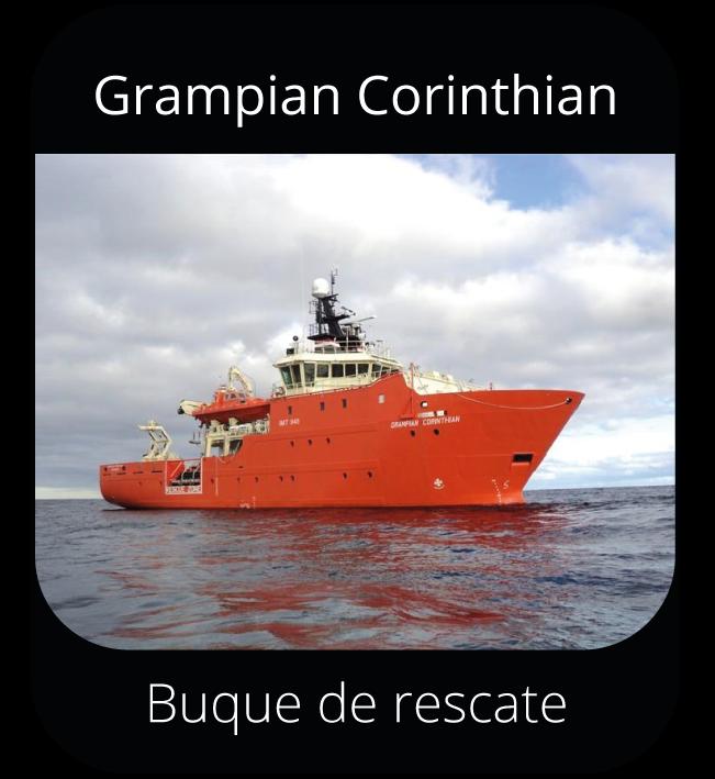 Grampian Corinthian - Buque de rescate
