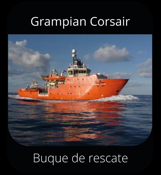 Grampian Corsair - Buque de rescate