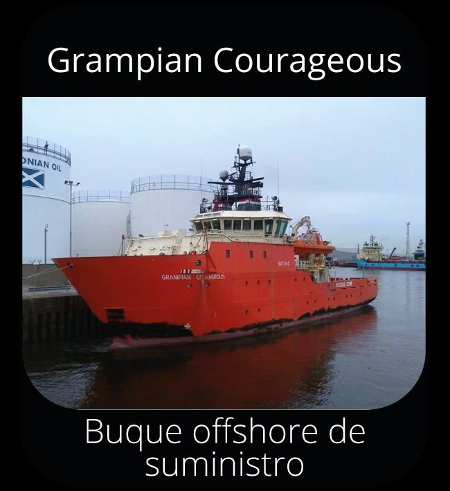 Grampian Courageous - Buque offshore de suministro