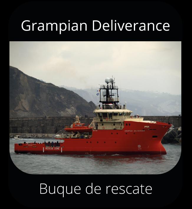 Grampian Deliverance - Buque de rescate