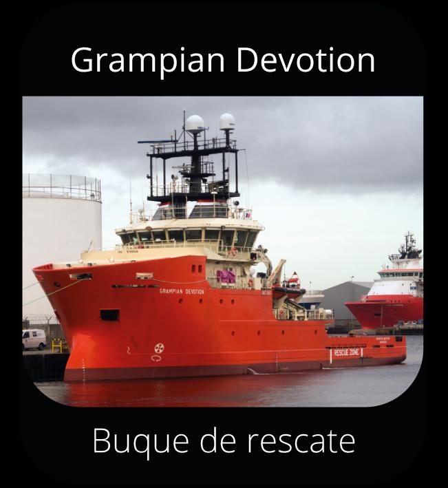 Grampian Devotion - Buque de rescate