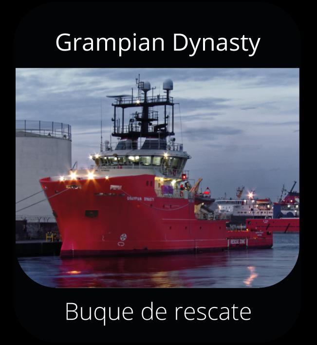 Grampian Dynasty - Buque de rescate