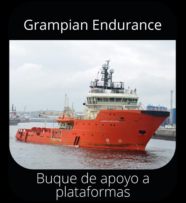 Grampian Endurance - Buque de apoyo a plataformas