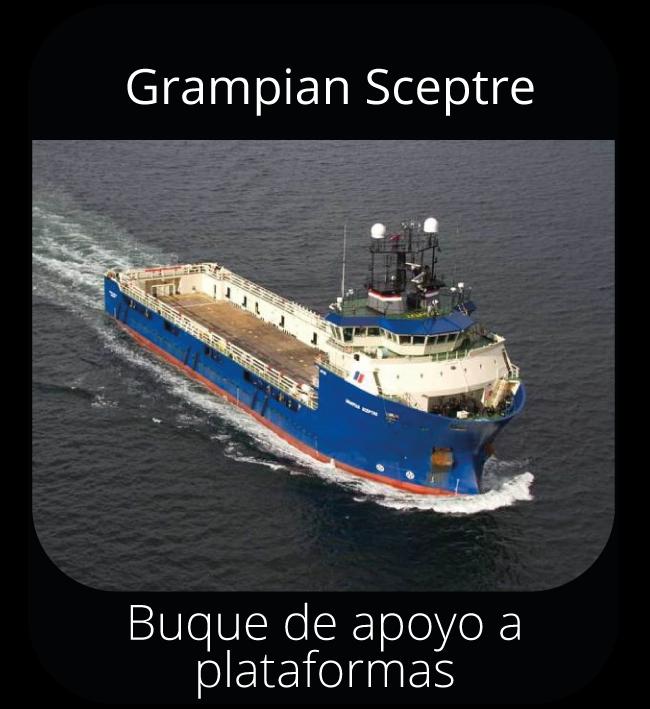 Grampian Sceptre - Buque de apoyo a plataformas