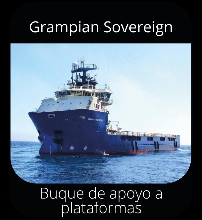 Grampian Sovereign - Buque de apoyo a plataformas