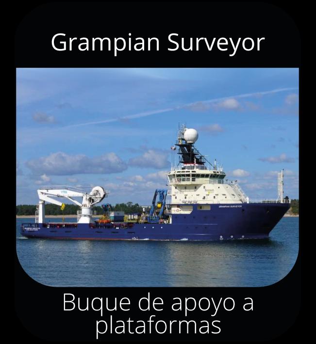 Grampian Surveyor - Buque de apoyo a plataformas