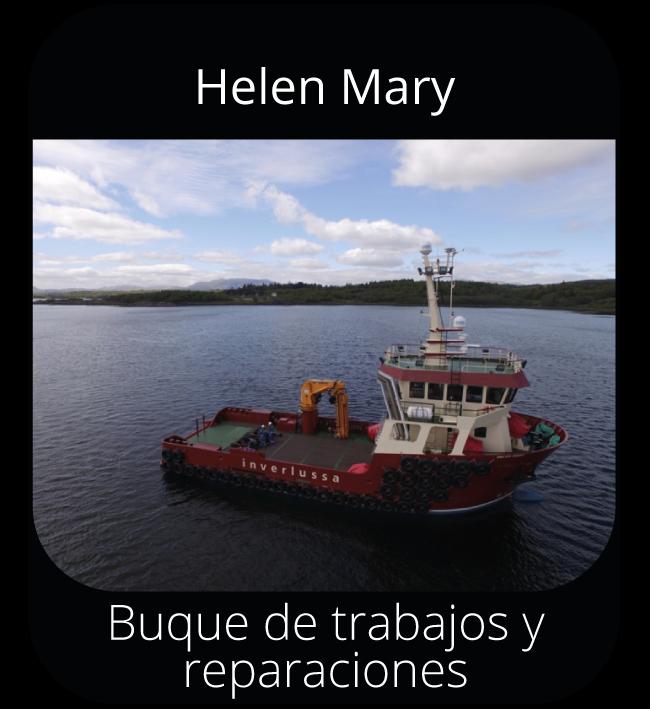 Helen Mary - Buque de trabajos y reparaciones
