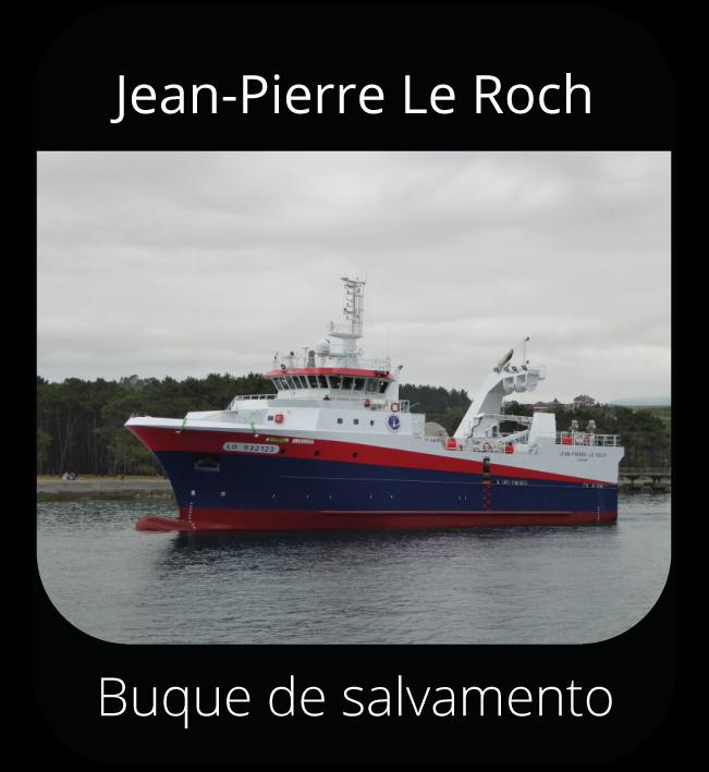 Jean-Pierre Le Roch - Buque de salvamento