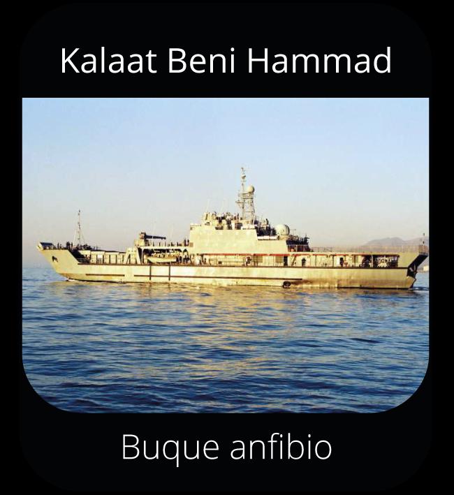 Kalaat Beni Hammad - Buque anfibio