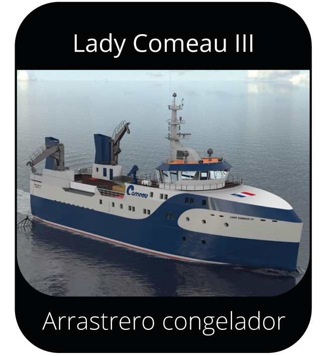 Lady Comeau III - Arrastrero congelador