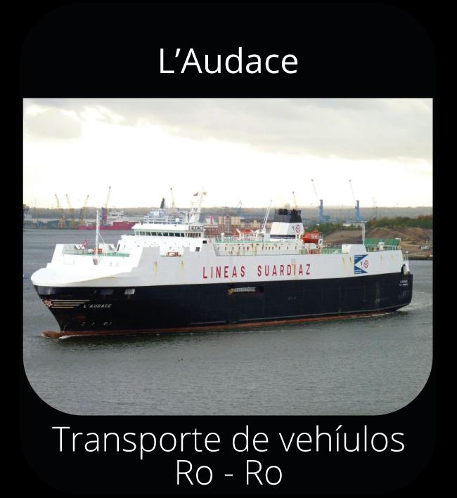 L'Audace - Transporte de vehículos Ro-Ro