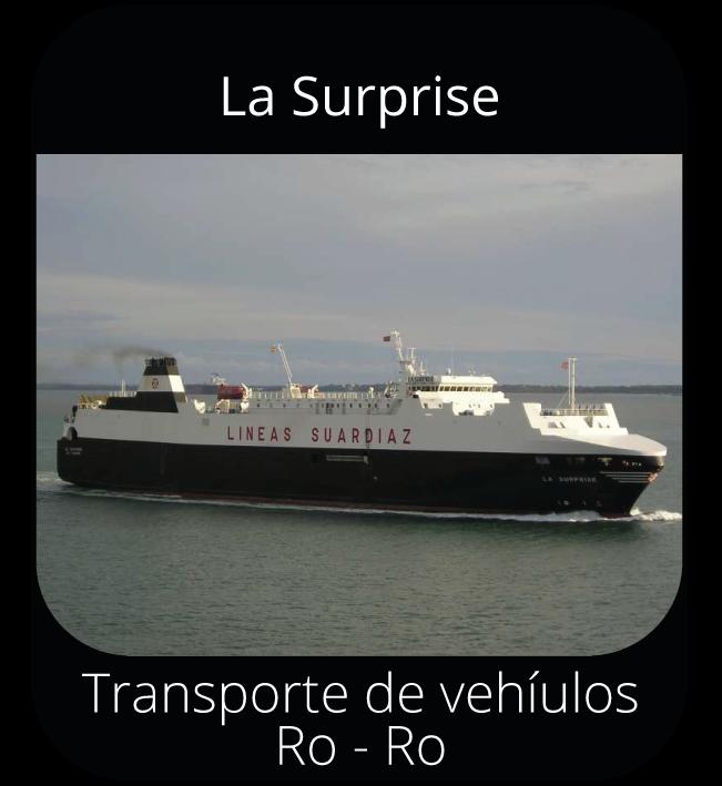 La Surprise - Transporte de vehículos Ro-Ro