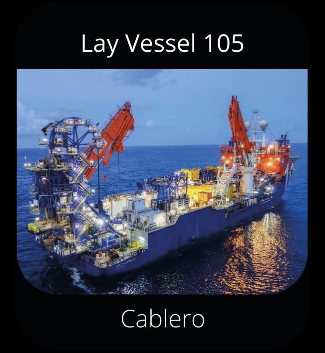 Lay Vessel 105 - Cablero