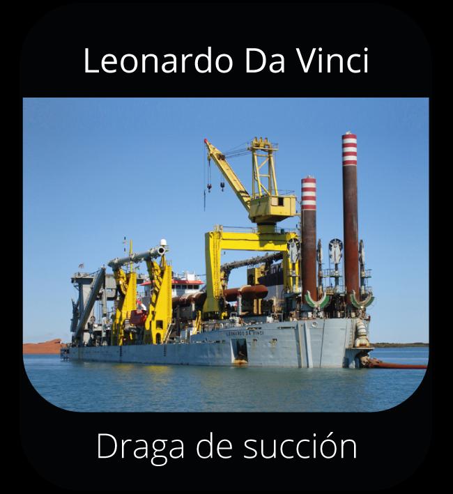 Leonardo Da Vinci - Draga de succión